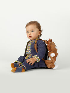 Silhouette bébé garçon La sagesse de la savane