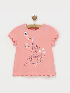 Coral T-shirt ROLALETTE / 19E2PFD2TMC404