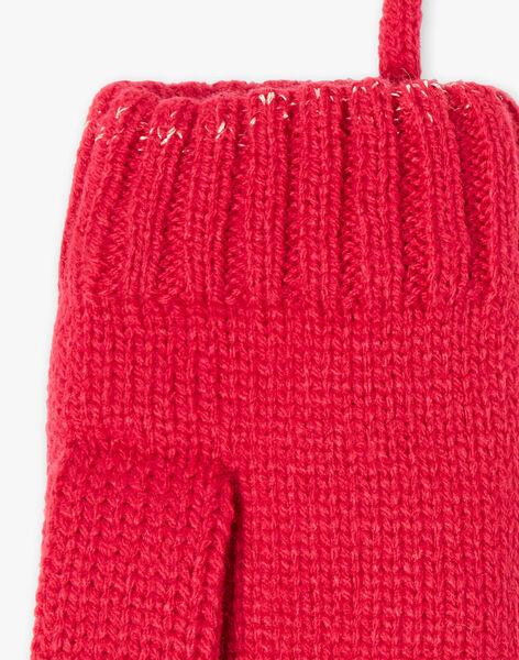 Moufles rouges VUCRETTE / 20H4PFI2GAN304