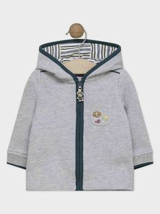 Heather grey Jogging top SAMILIEN / 19H1BGC1JGH943