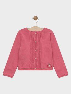 Baby rose Cardigan SYOMETTE / 19H2PFE1CAR307