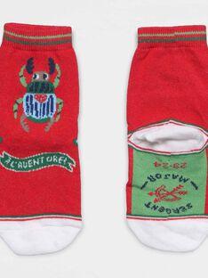 Red Socks NASOLAGE / 18E4PG81SOQ505
