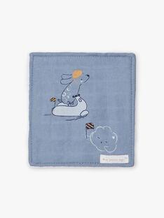 Lot de 6 lingettes bleues et blanches naissance garçon BOAZ / 21H0AG41ACD219
