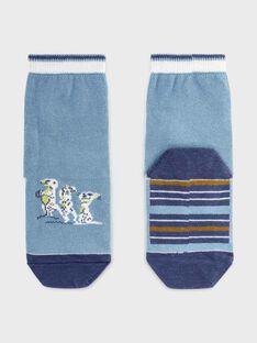 Greyish blue Socks SAMILAGE / 19H4PG62SOQ205