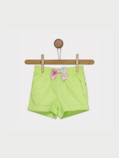 Lemon yellow Shorts RATINA / 19E1BFP1SHO108