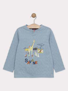 Greyish blue T-shirt SAMUAGE / 19H3PG62TML205