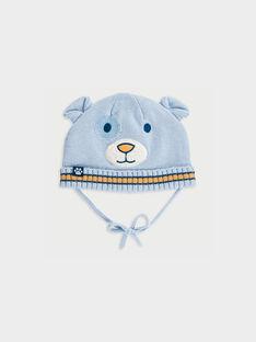 Bonnet bleu ciel PABARI / 18H4BG21BON020