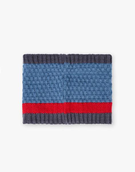 Snood en tricot fantaisie petit enfant garçon VUCOUAGE / 20H4PGE1SNOC203