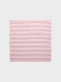 Clear pink Neckerchief RUIVAXETTE / 19E4PFP1FOU321