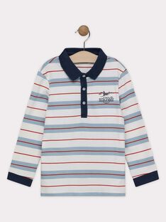 Blue Polo shirt SEMALAGE / 19H3PGE1POLC200