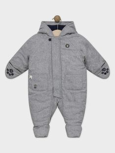 Heather grey Jumpsuit SIPABLITO / 19H1BGF3PIL943