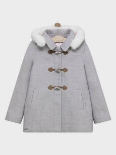 Heather grey Coat SOUMINETTE / 19H2PFF2MAN943