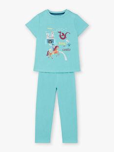 Pyjama Bleu ZEBARAGEEX / 21E5PG17PYJ204
