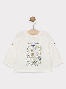 Off white T-shirt SAKENZO / 19H1BG61TML001