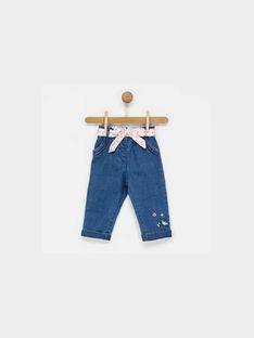 Blue denim Jeans NABARBARA / 18E1BF51JEA704