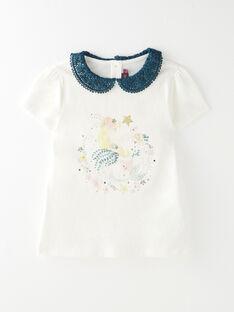 Tee Shirt Manches Courtes Ecru VOMUETTEEX / 20H2PFL1TMC001