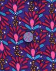 Chemisier violet RARELA / 19E1BFM1CHE703