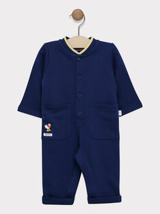 Navy Jumpsuit SAFELIZ / 19H1BG41CBLC214