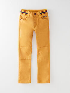 Pantalon jaune avec découpe aux genoux VARIAGE / 20H3PG62PAN106