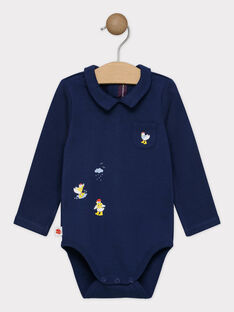 Navy Body suit SAFERDI / 19H1BG41BODC214