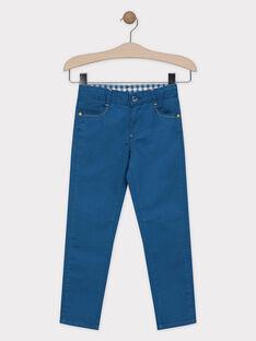 Navy pants SADENAGE / 19H3PG24PAN714