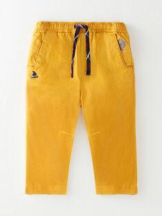 Pantalon jaune imprimé  VAFRANCOIS / 20H1BG61PAN106