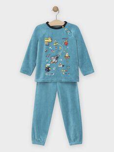 Pale turquoise Pajamas SEFUSAGE / 19H5PGK2PYJ203