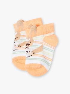 Chaussettes rayées bébé garçon  TAWILL / 20E4BGX1SOB001