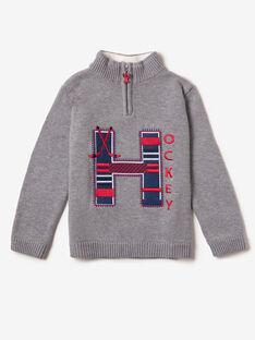 Pull en tricot gris  VIMOUAGE / 20H3PGW1PULJ920