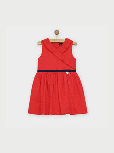 Red Chasuble dress RELINETTE / 19E2PFE1CHS050