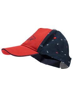 Chapeau rouge et bleu RIABIAGE / 19E4PGE1CHAF510