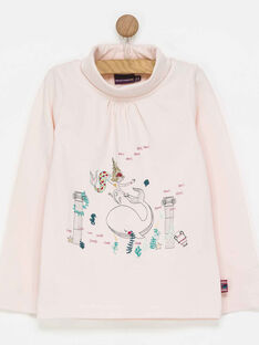 Pale rose Roll-neck PAFILETTE / 18H2PFE1SPL301