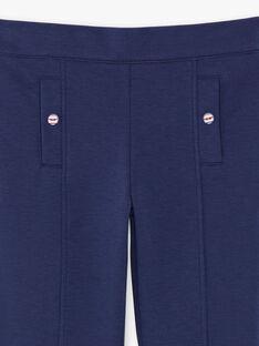 Pantalon Bleu ZEPATETTE 2 / 21E2PFB1PAN216