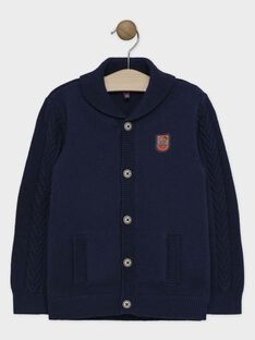 Navy Waistcoat SAPLIAGE / 19H3PGC2GIL705