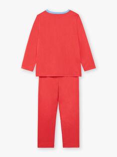 Pyjama Orange ZIPIMAGE1 / 21E5PGF2PYTE412