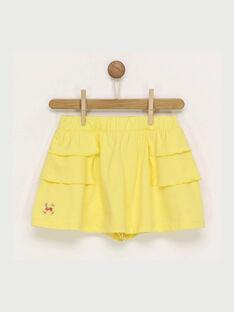 Jupe jaune RADUDETTE 2 / 19E2PFL2JUP010