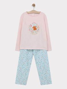 Old rose Pajamas SYRANETTE / 19H5PF54PYJ303