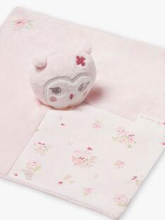 Peluche rose pâle ourson naissance fille BOLILOU / 21H0AF41JOU301