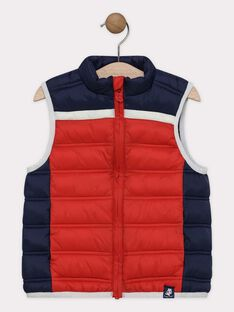 Red Sleeveless Jacket SEPOLAGE-2 / 19H3PGG1GSM050