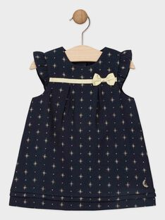 Navy Dress SAZINA / 19H1BFP2ROB070