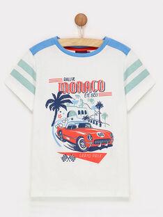 Tee shirt manches courtes blanc ROCAGE / 19E3PGH1TMC000