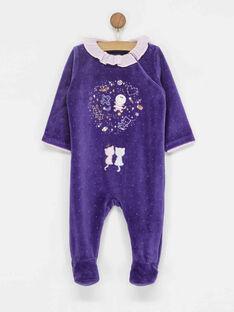 Purple Romper PIA / 18H5BF51GRE708