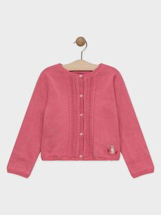 Baby rose Cardigan SYOMETTE / 19H2PFE1CAR307