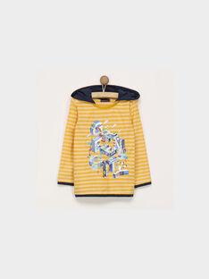 Tee Shirt manches longues jaune PIELAGE / 18H3PGH1TML109
