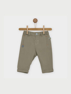 Pantalon kaki RAALLAN / 19E1BG21PAN604