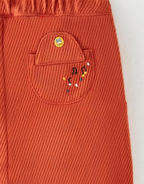 Pantalon marron foncé   VAJULES / 20H1BGM1PAN408