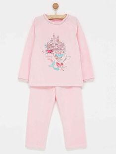 Rose Pajamas PIXOSETTE / 18H5PFL4PYJ309