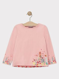 Baby rose T-shirt TAMOETTE / 20E2PFB1TML307