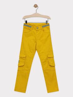 Pantalon jaune avec porte-clés requin garçon  TECOURAGE / 20E3PGD2PAN109