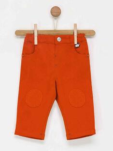 Pantalon orange PADENIS / 18H1BG61PAN400